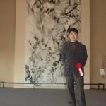 「日本画にみる世界遺産の旅」展(五浦美)開会式(菅原氏) 01