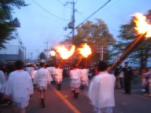 仰木祭ー火