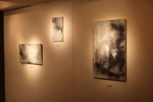 2010桜ー水墨